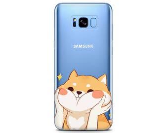 shiba decal Google Pixel case shiba case Samsung A3 case shiba print Galaxy s8 case shiba inu sticker clear phone case shiba dog Samsung s7