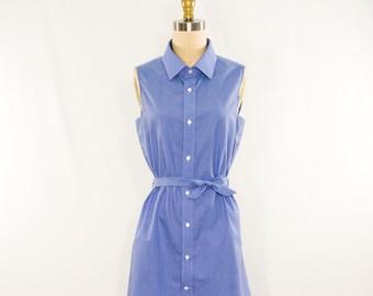 Repurposed Shirt Dress