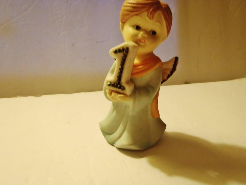 Birthday Angel Mirtex Trading Ceramic Age 1 unglazed