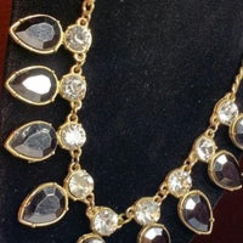 Vintage Brown Smokey quartz bling bling