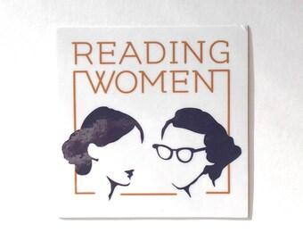 Reading Women Logo Sticker