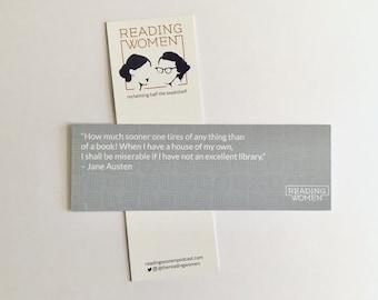 Reading Women Bookmarks - Series 2