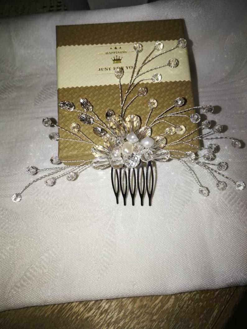 Comb jewel bride