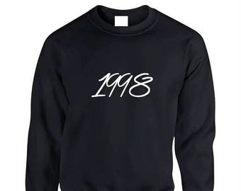 16b5b3c96 1998 Birth Year Sweater