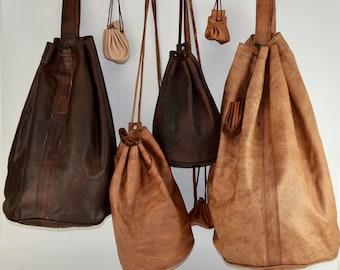 e05f4de74733 Leather gym bag