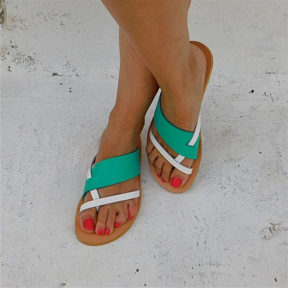 Beach Sandals Sandals Flip Sandals Sandals Leather Flat BOHO Greek sandals sundals Summer sandals flops Leather flats Comfortable 4xw1qUnpP1