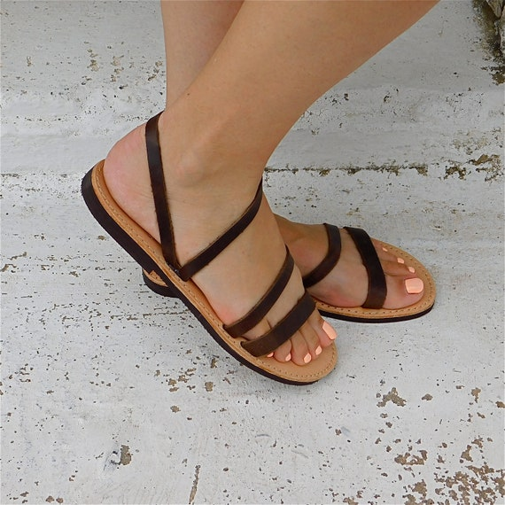 grecques sandales marrons de confortables sandales sandales mariage plage sandales Sandales BOHO de d sandales sandales EYOqdxawn