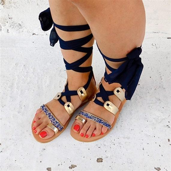 sandales sandales gladiateur de mariage d sandales sandales plates OOrtx7