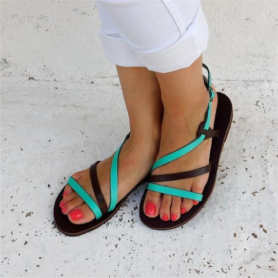 cuir sandales Sandales en sandales d confortables wBfqBRxA7H