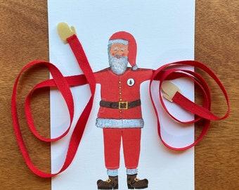 Knuffelkaart Claus