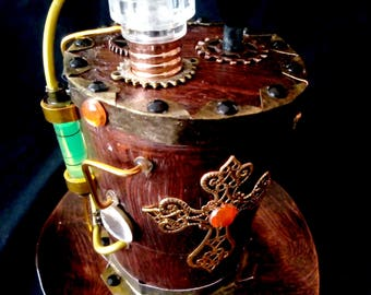 STEAMPUNK mini hat Industrial Mechanical Victorian age lights cosplay display