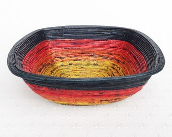 Newspaper bowl - Square, Large, 3 colours