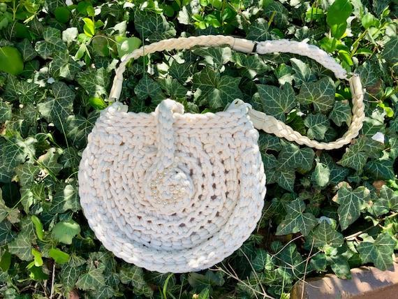 Häkelanleitung Vintage Tasche BELLINI Handtasche aus Ropegarn | Etsy