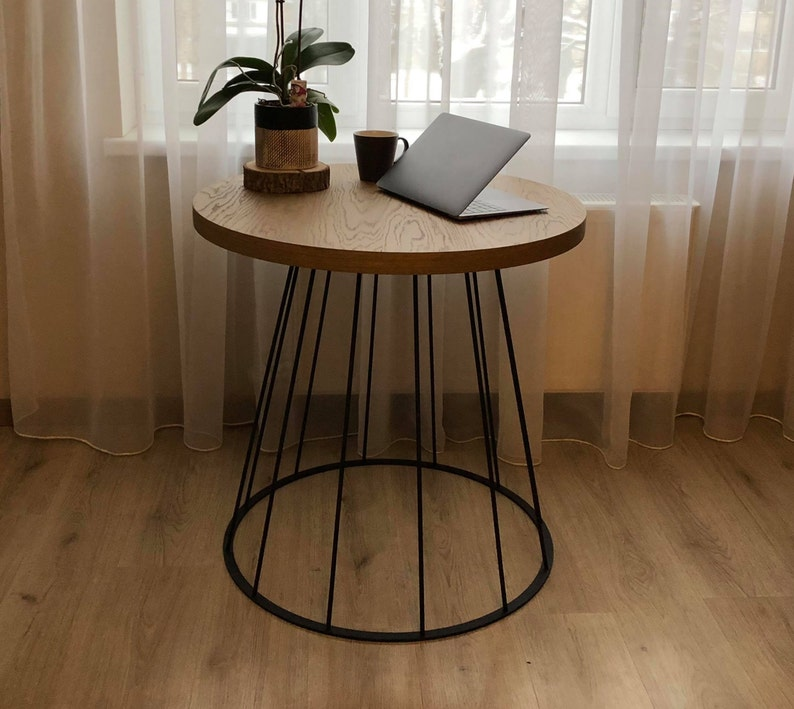 Dining Kitchen Table Leg For Round Table Topindustrial Style Etsy