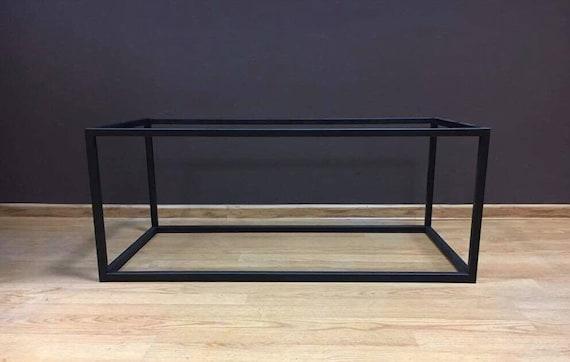 Elegant Steel Coffee Table Frame Industrial Style Minimalist Etsy