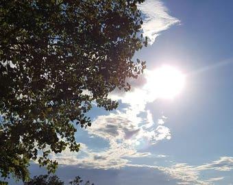 Presque Isle sunny day photograph;