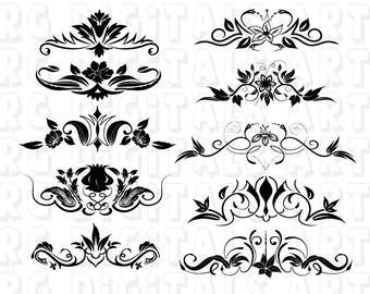 Decorative line svg etsy ornaments svg decorative elements svg decorative line svg divider ornament svg eps format for design silhouette cameo cricut thecheapjerseys Gallery