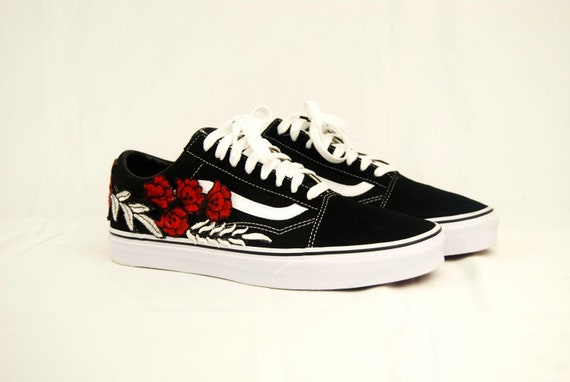 rose vans shoes men
