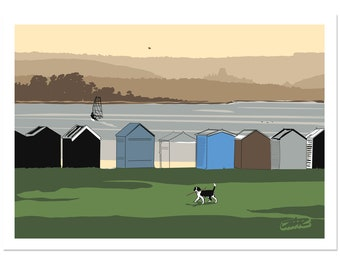 Hamworthy Park - Dorset coastal artwork by Jim Chambers