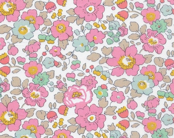 Liberty Betsy cupcake fabric, liberty of london betsy