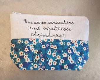 Gift kit for mistress white linen and liberty Blue Mitsi, master gift, atsem gift