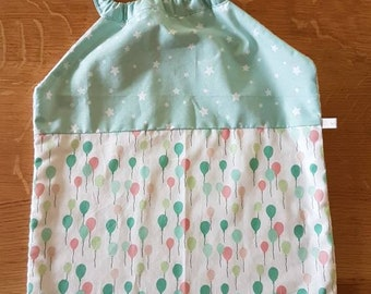 Elastic collar towel or school towel //elastic handmade bib // towel canteen// cotton towel
