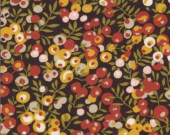 Liberty wiltshire fabric September // autumn//brown