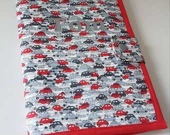 Protects health record // protects Liberty health book // boy// Liberty cars // birth gift idea