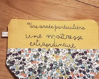 Mustard linen and liberty wiltshire autumn mistress kits, master gift, atsem gift
