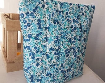 Turquoise liberty wiltshire toiletry bag