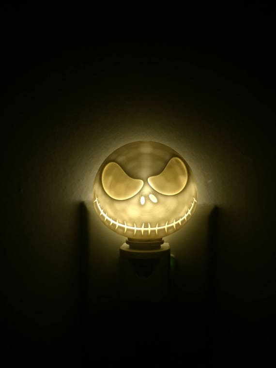 image 0 - Jack Skellington Night Light Etsy