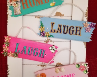Various Hanging Signs