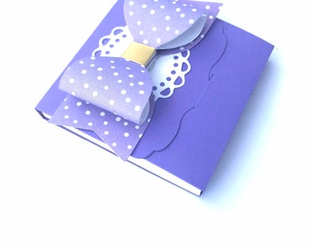 Lavender Sticky Note Clipboard with Notepad