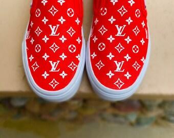 0b5aed439f6 LV supreme Vans