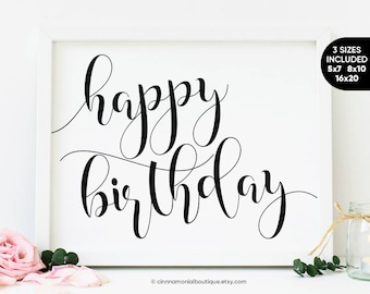 birthday printables etsy