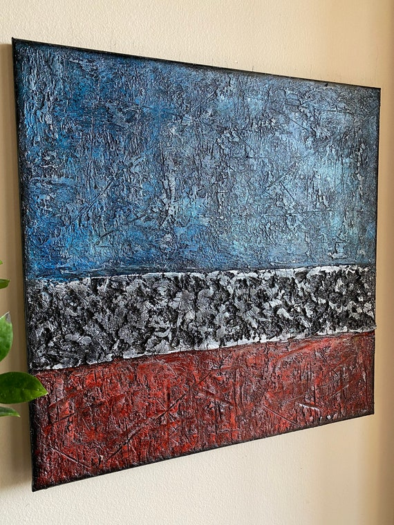 Original abstract painting on canvas unique art home decor acrylic painting modern art