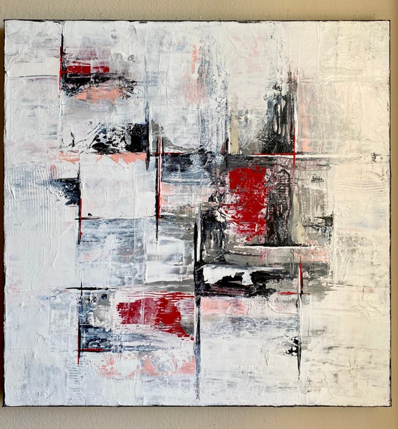 Original abstract painting on canvas unique art home decor original art acrylic abstract