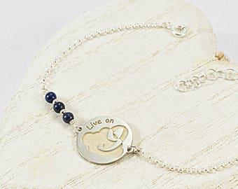 Funny Bracelet, Inspiration Bracelet For Women, Inspiration Jewelry, Mantra Bracelet, Inspiration Bracelet Sterling Silver, Mantra Jewelry