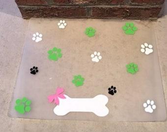 Waterproof Plastic Pet Placemat