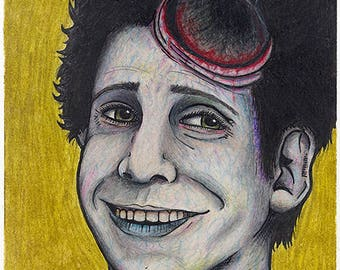 Idle Hands: Mick Monster Portrait Art Print
