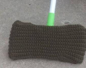 Reusable Crocheted Swiffer Cover