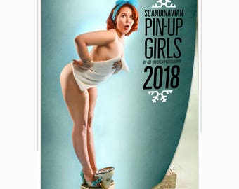 Scandinavian Pinup Girls 2018 Calendar