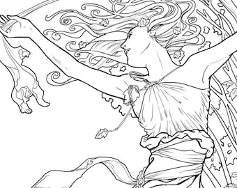 Verwonderend Fantasy and Steampunk Fine Art Coloring for door dawndavidsonart TJ-78