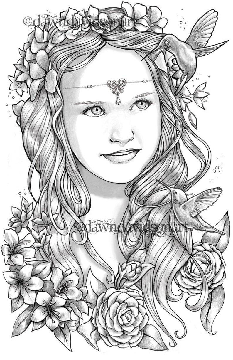 Prinzessin Ember Kolibris Erwachsene