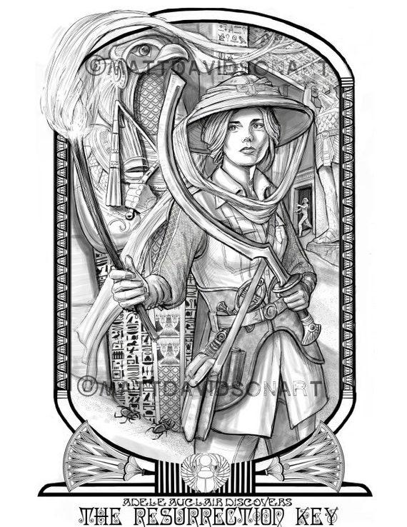 Fantasy Archaeologist Art