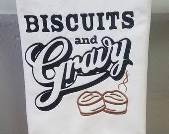 Biscuits & Gravy Single Towel