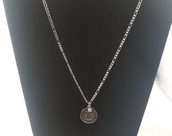 letter T pendant