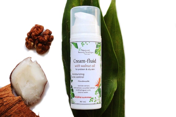 Acne Treatment Face Moisturizer For Oily Skin Natural Acne Etsy