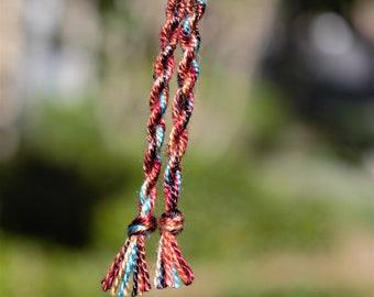 Tassel Yarn Earrings (Sustenance warp)