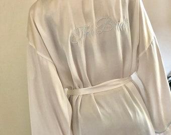 Vintage bridal robe  215bd91db